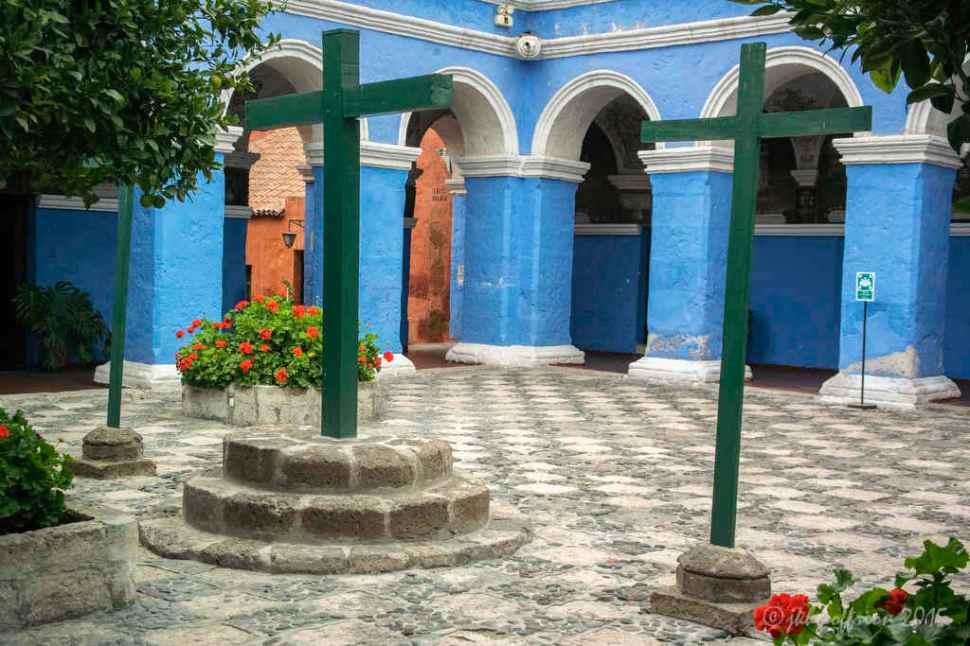 Santa Catalina Monastery Cloister