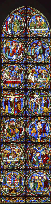 Passion and Resurrection Window Chartres