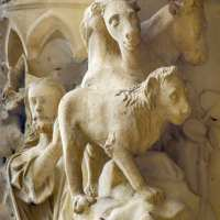 The Animals Created by God (Day 6 of Creation at Chartres)