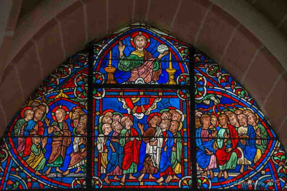 Christ Appears to His Disciples, Apostle Window