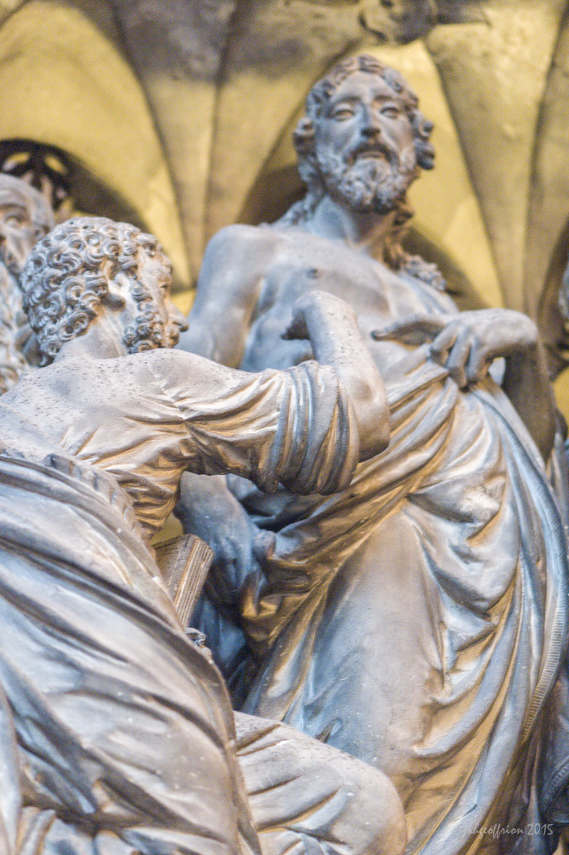 Thomas Touching Jesus, Outer Choir Sculptures (32)