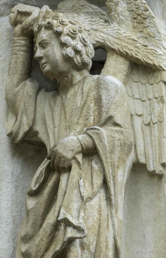 Angel Guarding the Garden of Eden