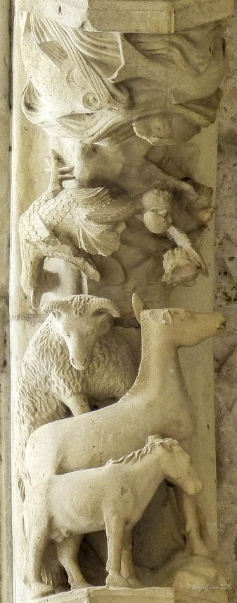 Garden of Eden, Chartres Cathedral