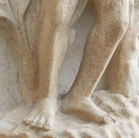 Adam's feet