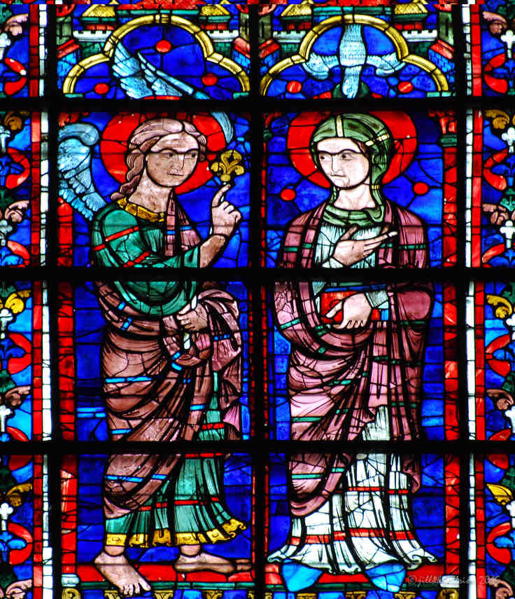 The Annunciation of Jesus' Birth by Gabriel to Mary