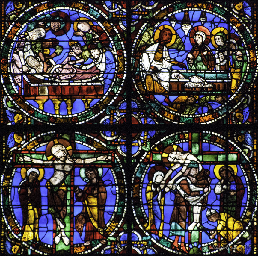 Jesus' death and burial, The Passion and Resurrection Window