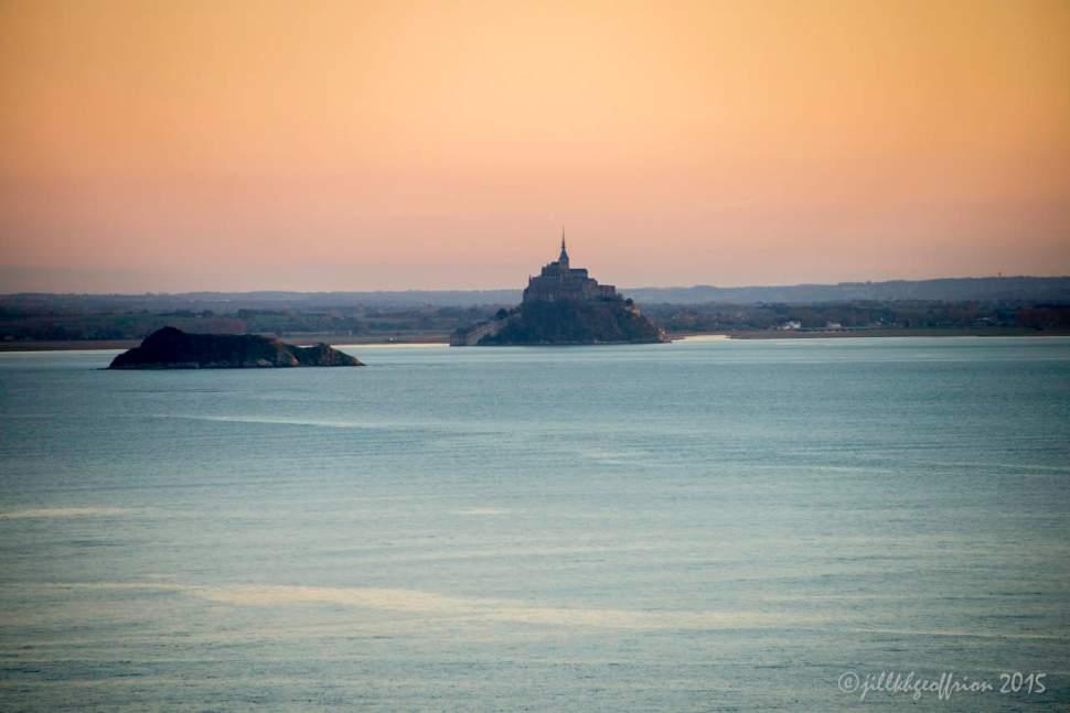 Mt. St. Michel across the Bay by Jill K H Geoffrion
