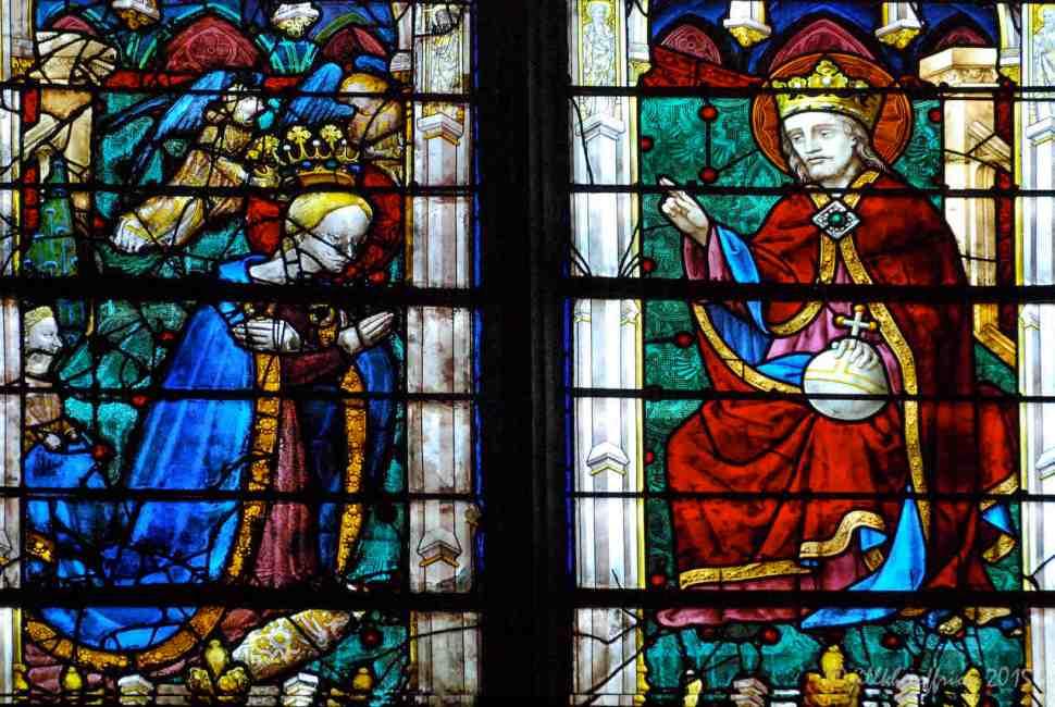 The Coronation of Mary by Jesus taken by Jill K H Geoffrion