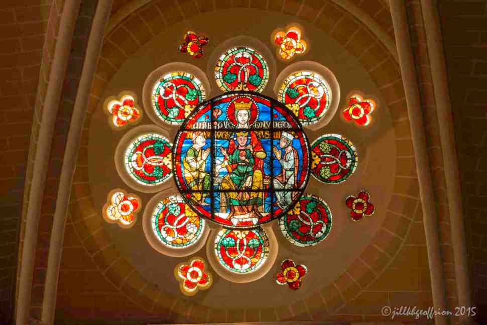 Restored Mary Throne, North Clerestory by Jill K H Geoffrion