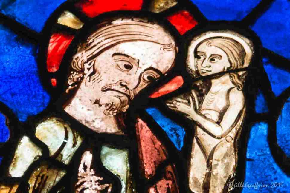 Jesus receiving Mary's Soul by Jill K H Geoffrion