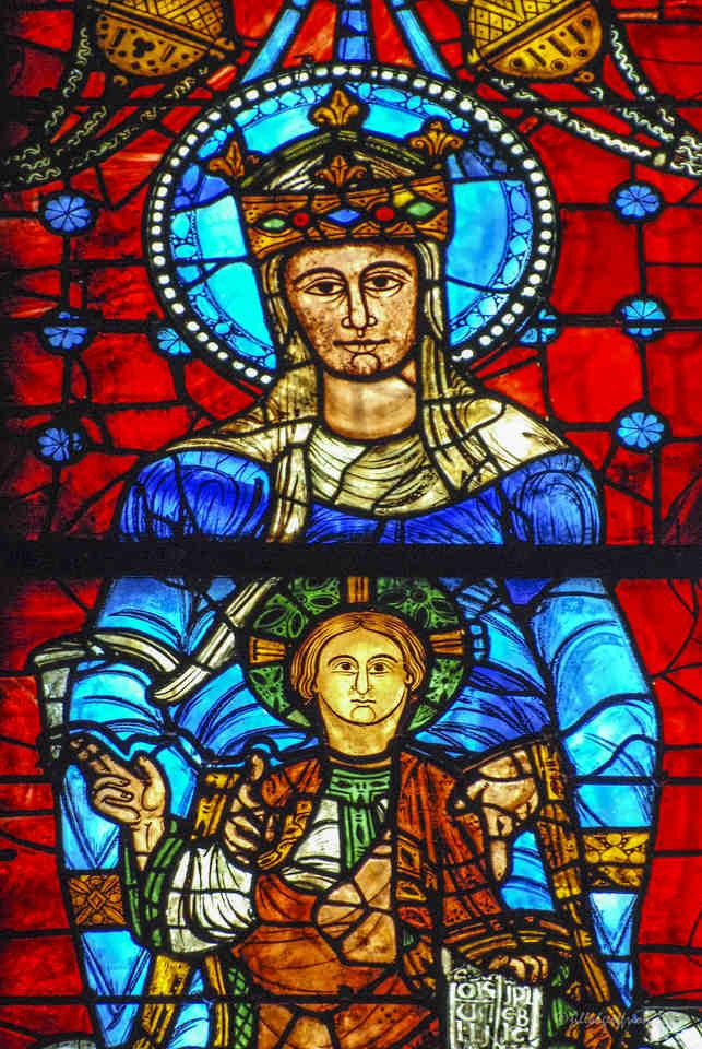 Notre Dame de la Belle Verrière by Jill K H Geoffrion
