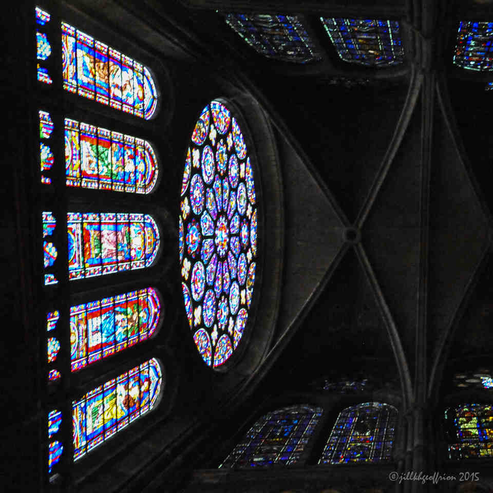 The South Rose at Chartres Cathedral by Jill Geoffrion