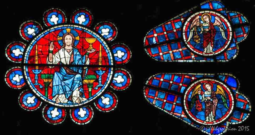 ChartresSRoseAngel