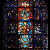 Visions of Mary: The Blue Virgin Window at Chartres