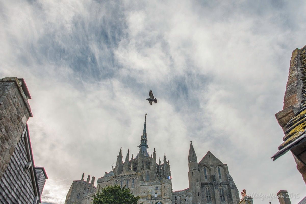 Pilgrimage (Mont Saint Michel-2): Soaring and Remaining Grounded