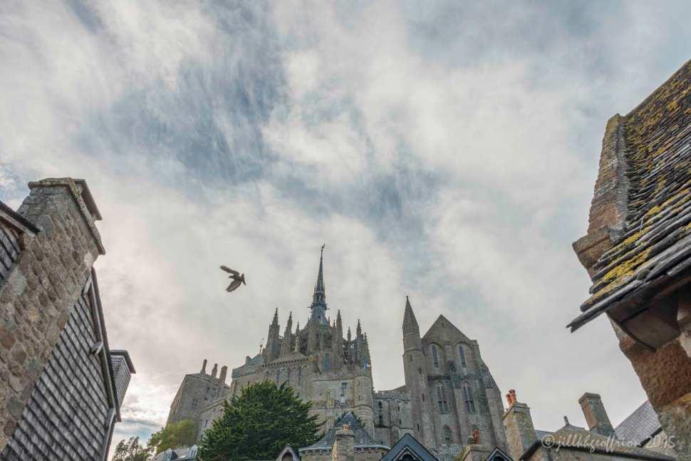 Mont St. Michel, France by Jill K H Geoffrion