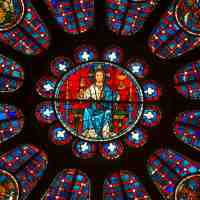 Praying with Stained Glass: The South Rose at Chartres (2)