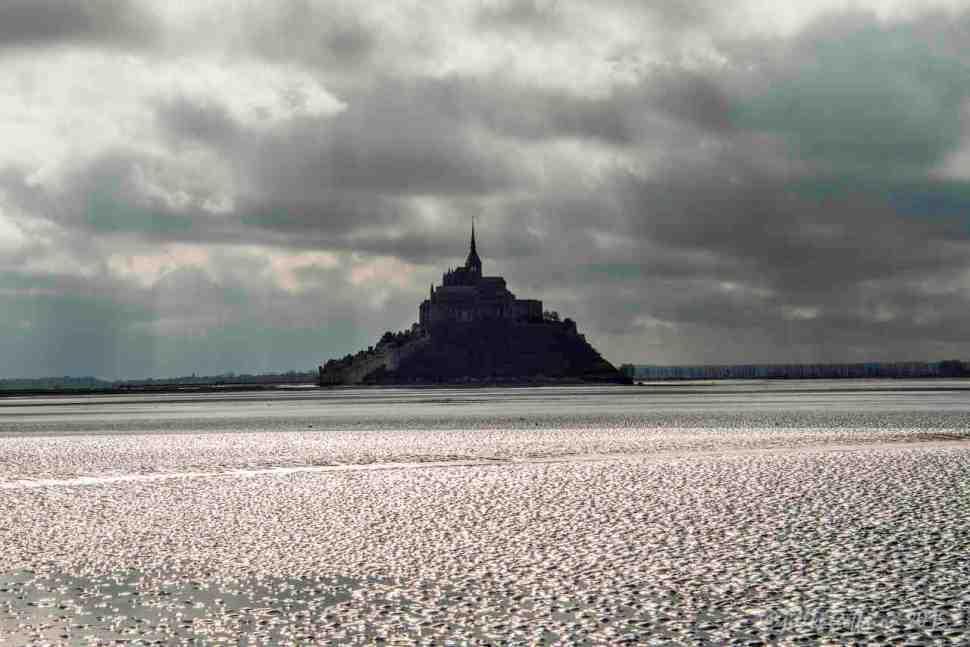 Mont St. Michel in the distance by Jill K H Geoffrion