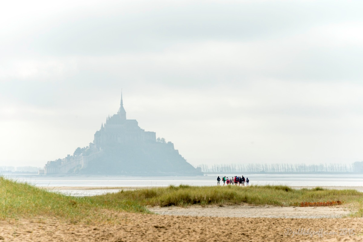 Pilgrimage (Mont Saint Michel-6): We Find Our Way By Walking