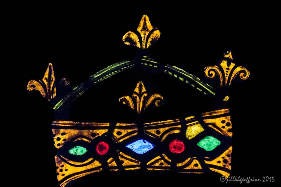 Crown of Mary, Notre Dame de la Belle Verrière by Jill K H Geoffrion