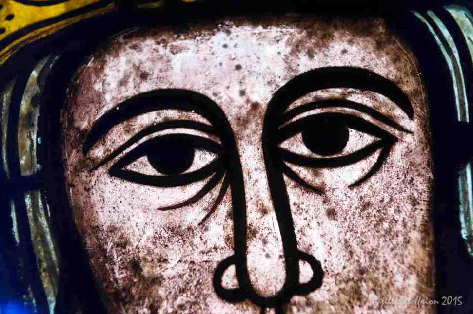 Jesus's gaze in Notre Dame de la Belle Verrière by Jill K H Geoffrion