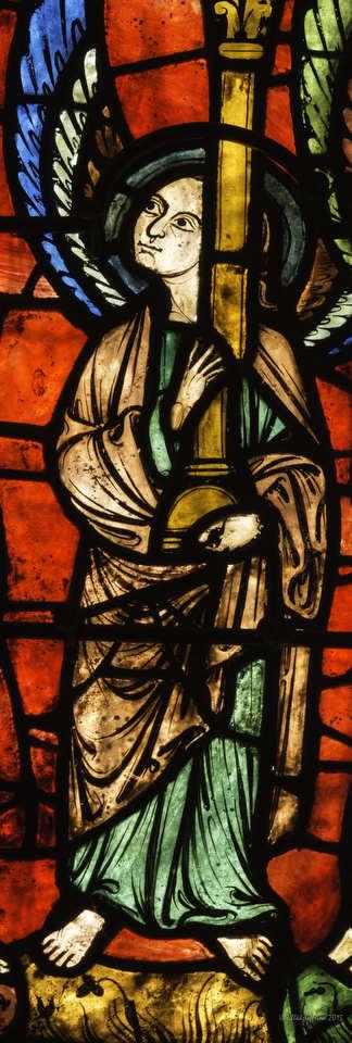 Angel, Notre Dame de la Belle Verrière by Jill K H Geoffrion