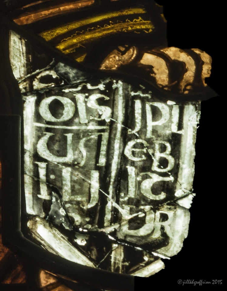 Jesus' book: Notre Dame de la Belle Verrière by Jill K H Geoffrion