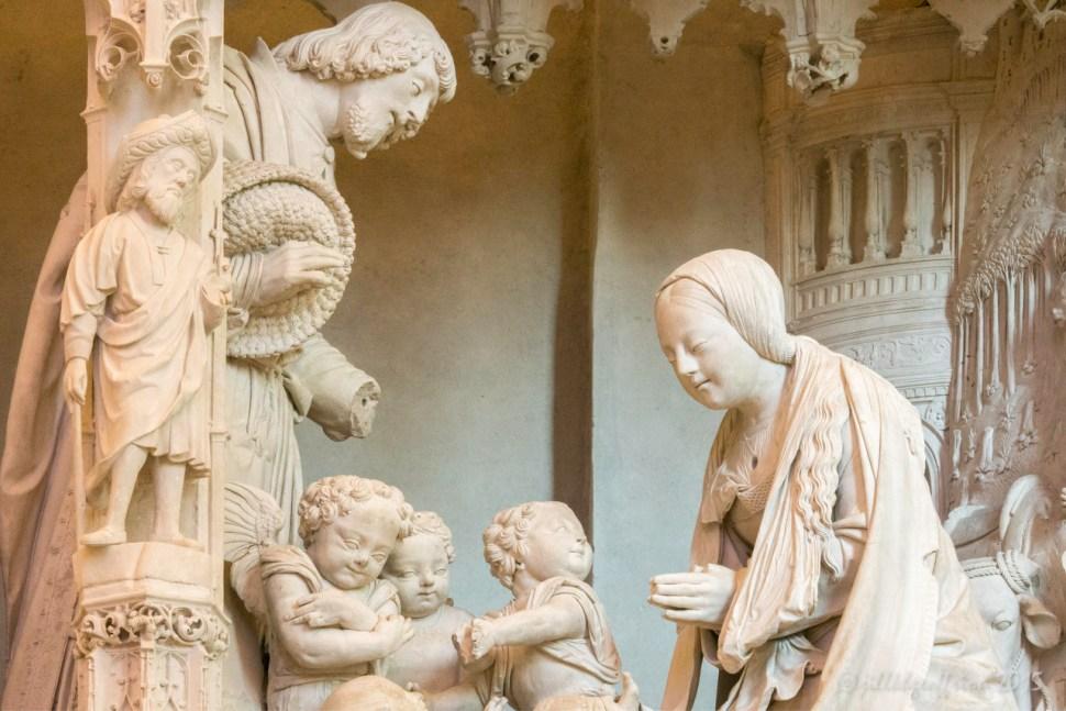 Nativity choir statues by Jill K H Geoffrion