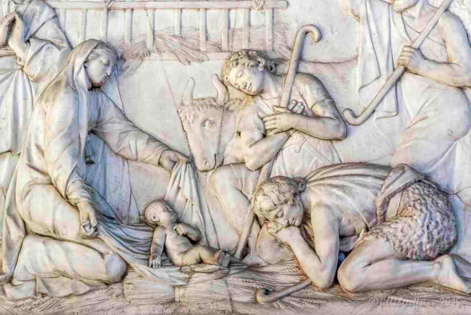 The adoration of the shepherds by Jill K H Geoffrion