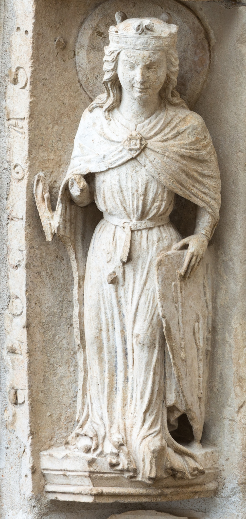 Velocity on the North Porch of Chartres by Jill K H Geoffrion