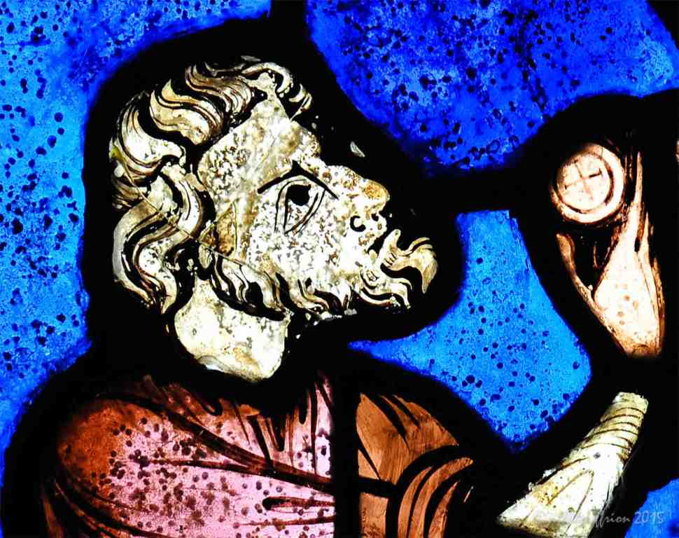 Magi visits Jesus and Mary by Jill K H Geoffrion