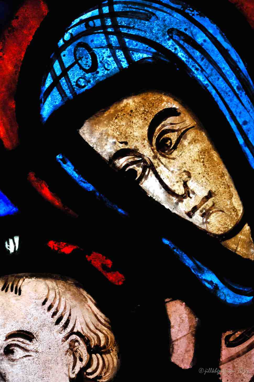Mary watches Jesus by Jill K H Geoffrion