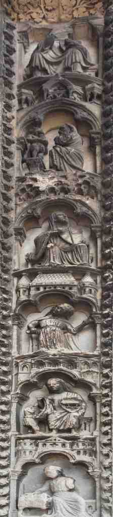 Virtues Vices South Porch by Jill K H Geoffrion