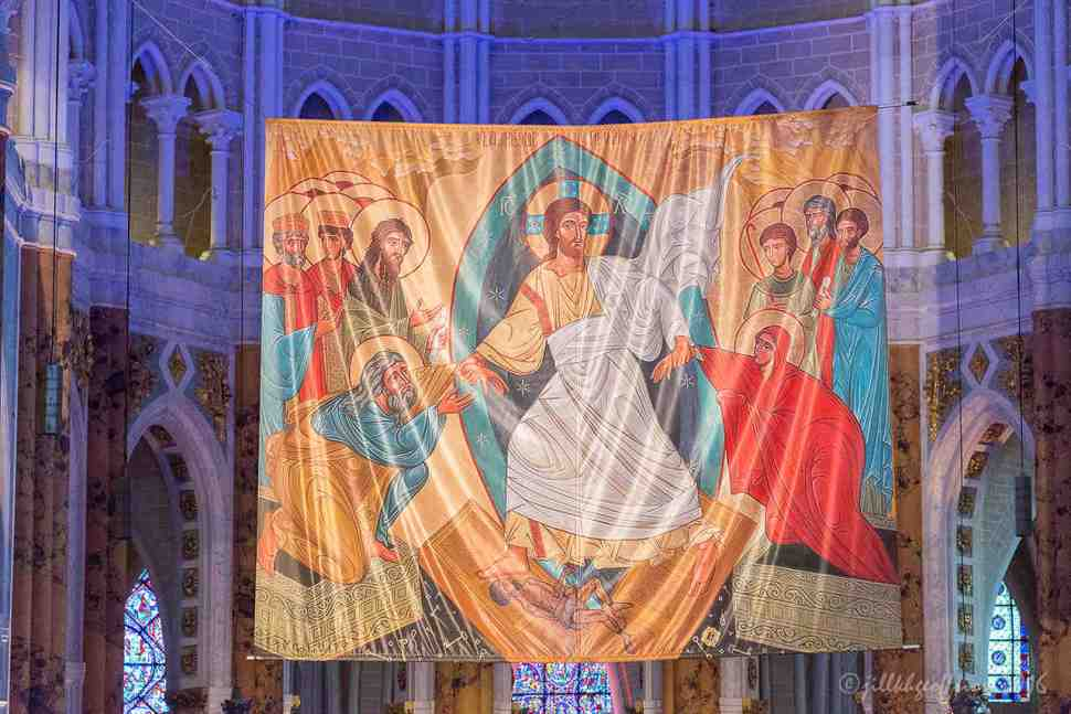Icon of the Resurrection at Chartres by Jill K H Geoffrion