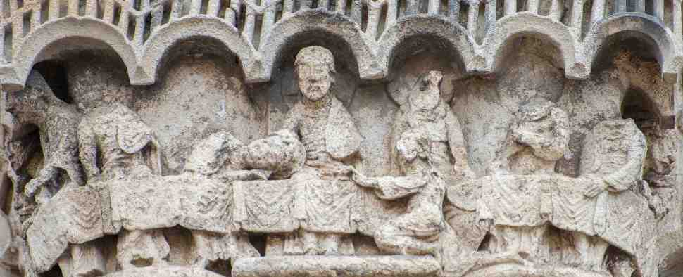 The Last Supper on the West Frieze by Jill K H Geoffrion