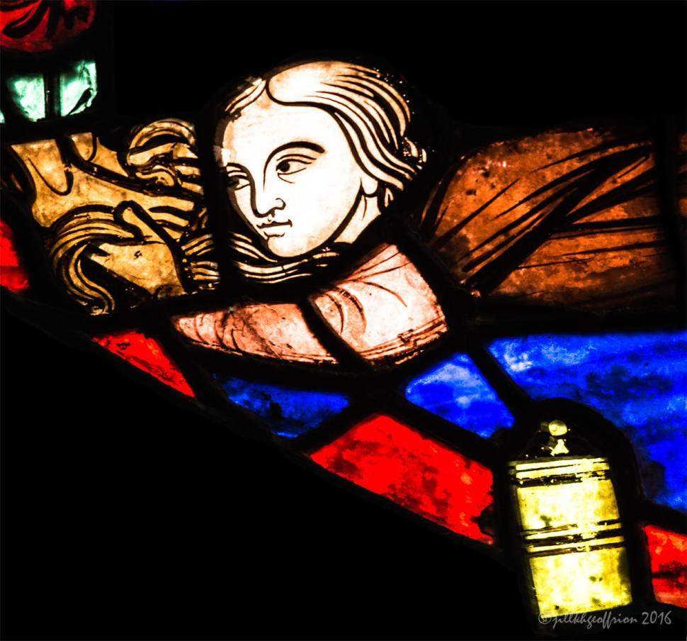 Mary anoints Jesus Feet by Jill K H Geoffrion