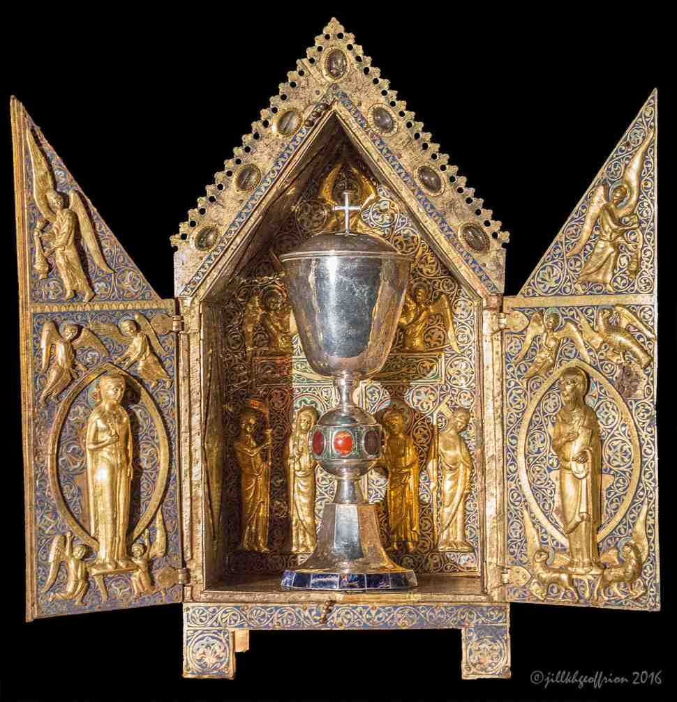 Tabernacle de Saint Aignan, Chartres Cathedral by Jill K H Geoffrion