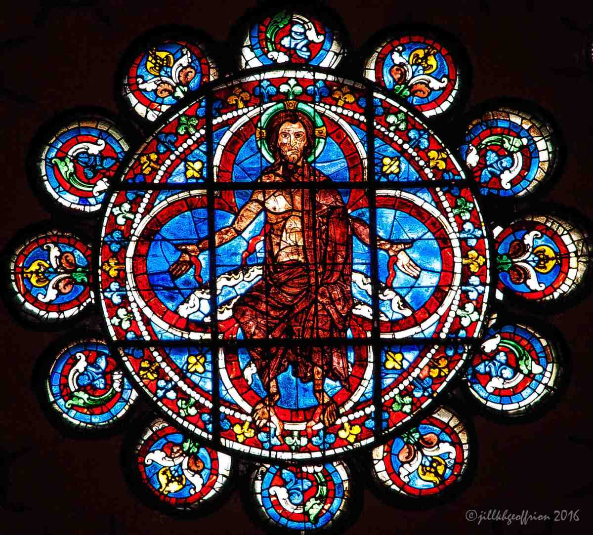 Center Of All: The West Rose Window At Chartes (2)