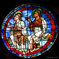 Apostles: The West Rose Window At Chartes (9)