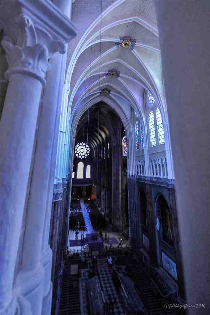 West rose from the choir at Chartres by Jill K H Geoffrion