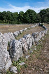 Boat grave at Gannarve by Jill K H Geoffrion