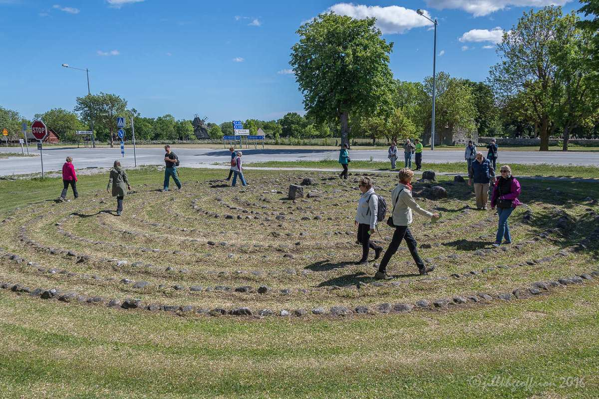 Stone Labyrinths: Pilgrimage to Swedish Labyrinths On Gotland Island-4