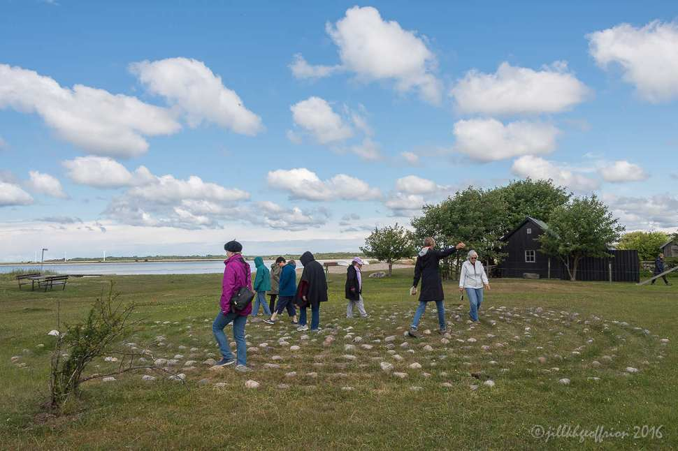 Nisseviken Swedish Labyrinth by Jill K H Geoffrion