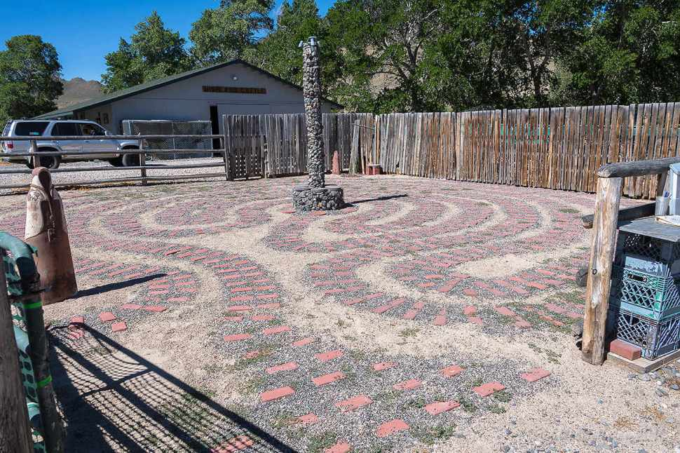 Johnson Labyrinth by Jill K H Geoffrion
