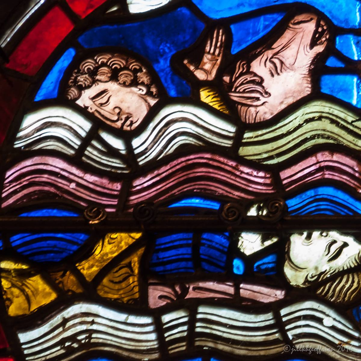 The Victims: The Noah Window at Chartres (9)