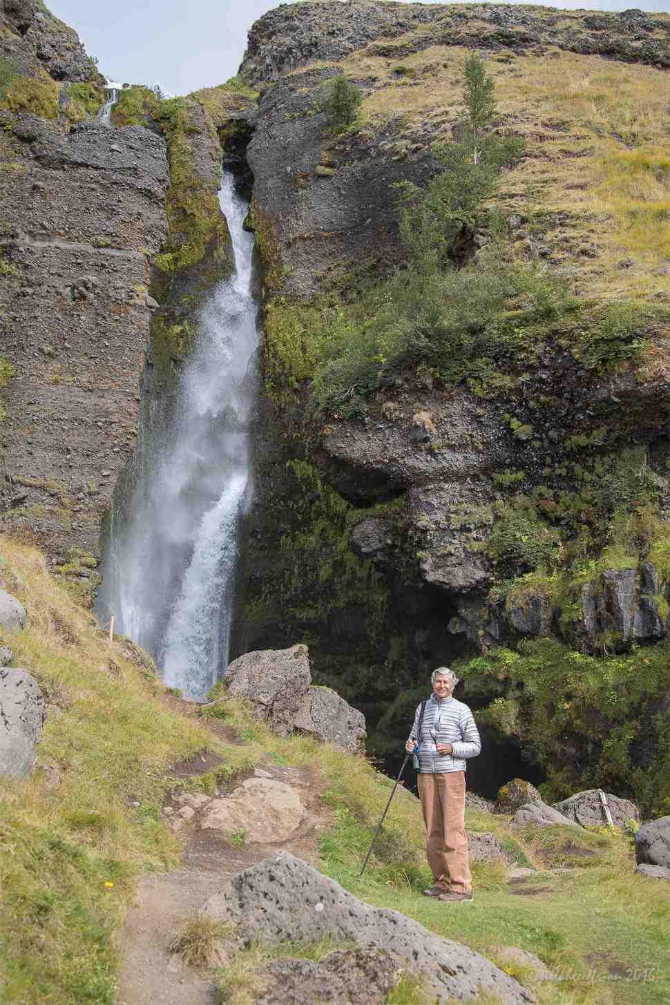 Gluggafoss Waterfall, Iceland by Jill K H Geoffrion