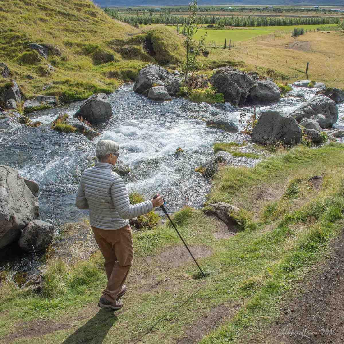 Jill's Spill in Iceland